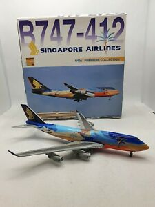 Dragon Wings1:400 Singapore Airlines 9V-SPK Boeing 747-400 Model Aircraft