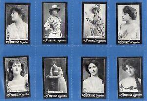 8 x Rare Cigarette cards 1898 Morris Actresses #041