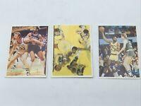 1989 C'AO MUFLON #16 #46 #48 Larry Bird/James Worthy Celtics HOF SUPER RARE!!!