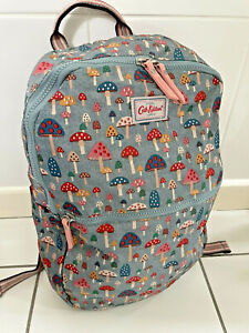 Cath Kidston Foldaway Backpack Mini Mushrooms Design New with Tags