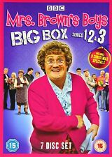 "MRS BROWN'S BOYS SEASON 1-3 + CHRISTMAS SPECIALS 7 DISC DVD BOX SET R4 ""NEW"""