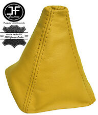 YELLOW REAL LEATHER GEAR GAITER FITS VOLKSWAGEN FITS VW GOLF 3 MK3 III 1991-1998