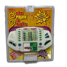 The Price Is Right Vintage Electronic Travel Handheld Video Game 1998 Tiger