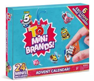 Zuru 5 Surprise Mini Brands TOY - 24 Surprise Pack Advent Calendar IN HAND!