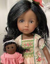 "10"" Boneka Doll Monday's Child Lesia 4/5 by Dianna Effner Dark Tan + Extras"