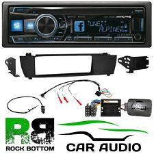 BMW X3 2004 - 2010 Alpine CD MP3 USB Bluetooth Car Stereo & Fascia Fitting Kit