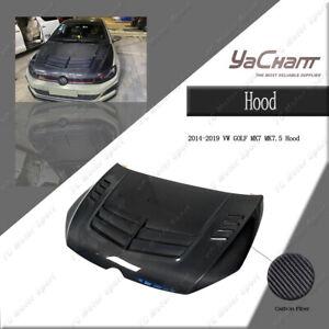 Carbon Fiber VS-Style Hood Bonnet For 2014-2019 GOLF MK7 MK7.5