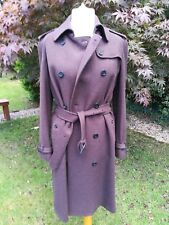 Womens burberry trench coat size 14