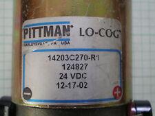 PITTMAN MOTOR 14203C270  24 VDC 1/4 INCH SHAFT