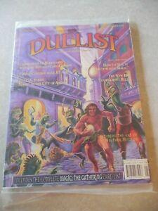 THE DUELIST DECKMASTER MAGAZINE #8, DECEMBER 1995, MAGIC THE GATHERING, SEALED!
