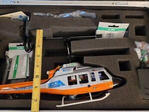 Esky RC helicopter Pursuer with hard metal case Used
