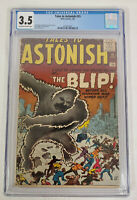 Tales to Astonish #15 CGC 3.5 Off White to White Marvel Atlas The Blip FFH