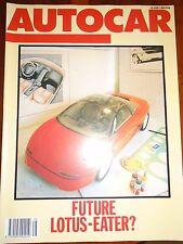 Autocar 18/6/86 Honda CRX Coupe 1.6i-16
