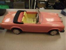 Vintage 1980s BARBIE Rolls Royce Pink  Convertible Custom Made by Zima (k)