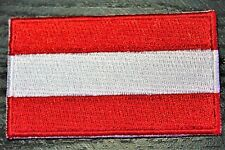 AUSTRIA Austrian Country Flag Embroidered PATCH Badge *NEW*