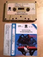 SEPULTURA - Schizophrenia MC RARE POLISH PRESS 1990