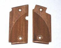 NEW Sig Sauer P238 Pistol Checkered Classic Wood Grips 380 ACP #2013