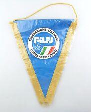 #e6263 Original Wimpel aus Italien Federatione Italiana Lotta Pesi Judo