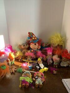 Vintage Trolls Lot 27 Russ My Kids Ace Uneedadoll Trolio