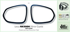 Lexus NX300H mirror guards fit years 2015 through 2019