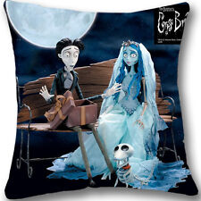 "Corpse Bride Custom Zippered 18"" Cushion Cover Case Decorative Pillowcase L607"