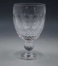 """WATERFORD CRYSTAL IRELAND COLLEEN SHORT STEM WATER GOBLET -5.1/4"""""""