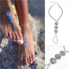 Women's Barefoot Sandal Beach Anklet Foot Chain Jewelry Ankle Bracelet Gifts