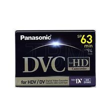 Panasonic DVC HD Tape Mini DV Professional for HD Video - SP 63 Min