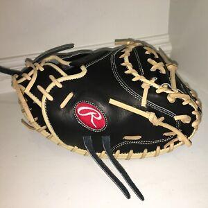 """NEW Rawlings PROJP2014XRD2PRO Heart Hide Baseball Catcher Glove 32.5""""  PRO ISSUE"""