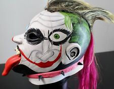 Wrestling Mask Psycho Clown AAA TWO FACES the best mexican fight gift toy WWE