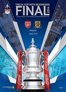 FA CUP FINAL 2014 Hull City v Arsenal - Official match programme