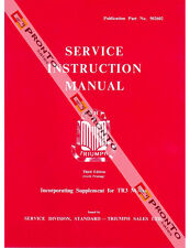 FACTORY WORKSHOP SERVICE REPAIR MANUAL BOOK TRIUMPH TR2 TR3 TR3A