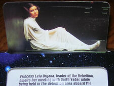 1997 Frito Lays Promotional 2 Sided The Star Wars Trilogy Card Leia, R2-D2 C-3PO