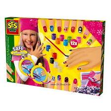 SES creative 14975 Bastelset Fingernägel verzieren für Kinder NEU