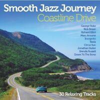VARIOUS - SMOOTH JAZZ JOURNEY: COASTLINE DRIVE 2 CD NEW!