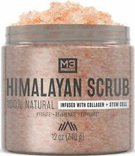 M3 Naturals Himalayan Salt Scrub Infused with Collagen and Stem Cell All Natural