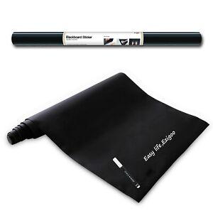 Chalkboard Sticker Self Adhesive Blackboard Paper Wall Sticker 60cmx310cm Ezigoo