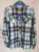 Ted Baker Boys Checked Shirt / Top. 13, 14 Years. Designer. Rrp £28.00
