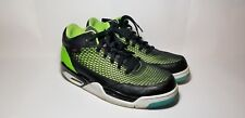 Nike Air Jordan Flight Club 80's Blk-Pink-Flash Lime-Gamma Blue 599583-032 10.5
