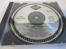 KOOL MOE DEE ~ THEY WANT MONEY ~ PROMO ~ DJ ~ SINGLE SONG ~ 1989 ~ CD