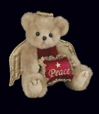 "10"" ANGELINA*Bearington Stuffed Teddy Bear*New*NWT*Christmas*ANGEL*Peace*173189"
