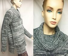 Cynthia Rowley New York XL Acrylic Wool Cowl Neck Sweater Women Lady Holidy Gift
