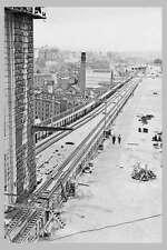 SYDNEY Harbour Bridge Miller's Point Rail Station c1926 modern digital Postcard