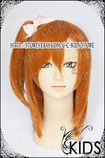LOVE LIVE Kousaka Honoka Cosplay wig costume Orange colour