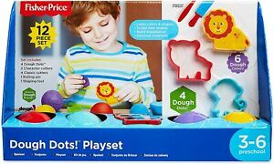 Fisher-Price Dough Dot 12 Piece Play Set Brand New & Sealed
