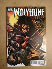 WOLVERINE #1000 FIRST PRINT MARVEL COMICS (2011)
