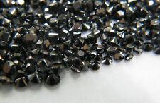 1 x Diamant schwarz 1,2mm bis 2,90mm schwarze Diamanten