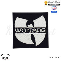 Wu Tang Music Band Embroidered Iron On Sew On PatchBadge For Clothes Bags Etc