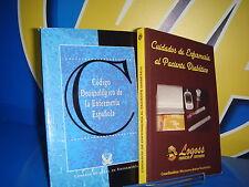 Libro Dos libros practicos-CUIDADOS DE ENFERMERIA/CODIGO DEONTOLOGICO DE LA ENFE