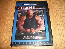 BODYBUILDING DVD-Titans The Blade-Dexter Jackson (NEW)-FREE 1st CLASS POST!!!!!!